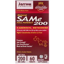 Jarrow Formulas, Natural SAM-e 200, 200 mg, 60 Tablets