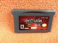 Batman Rise of Sin Tzu Gameboy Advance GBA Pal USA Eccellente