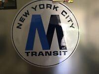 New York City Transit MTA Logo