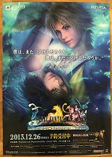 Final Fantasy X X-2 HD RARE PS Vita PS3 51.5 cm X 73 Cm Cartel Promo Japonés