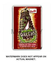 RETRO -DOCTOR WHO - DALEKS  DEATH RAY LOLLY WRAPPER JUMBO FRIDGE MAGNET