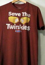 Hostess Save the Twinkie Light Blue Men/'s T-Shirt New