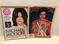 2 Micheal Jackson Collector Edition Magazine mint condition