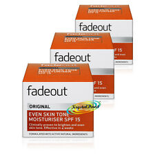 3x Fade Out Original incluso Tono De La Piel Crema Hidratante SPF15 50 Ml ingredientes naturales