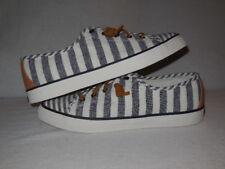Sperry Seacoast MULTI STRIPE Sneakers Canvas - Women's Size 10 M