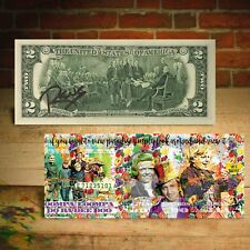 WILLY WONKA $2 US Bill View Paradise - Signed by RENCY Ltd. of 171