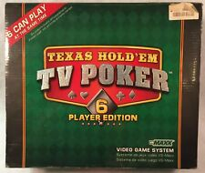 VS MAXX Video Game System Texas Hold'em TV Poker 6 Player Edition #20894
