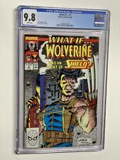 what if … 7 cgc 9.8 wp marvel 1989 wolverine Shield 024