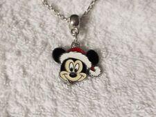Mickey Mouse Santa Inspirado Collar de encanto Bolsa Fiesta Navidad Stocking Relleno