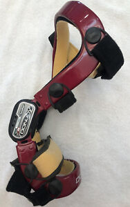 DonJoy Defiance ACL PCL CI Knee Brace Red Right Medium FourcePoint ForcePoint