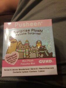 Gund Pusheen Surprise Plush Box Mystery Series 11 Winter Wonderland Unopened