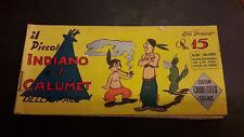 Albi Colibrì1° serie  #6 Piccolo Indiano ed. Tedeschi 1948 striscia