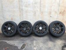 22 inch gloss black Cadillac Escalade Wheels on 285 45r22 tires & rims-4 pc Used