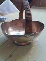 Antique? J C & Co Ltd Silver Plate basket by90a