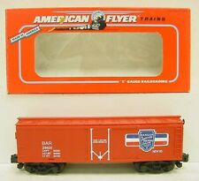 American Flyer 6-48316 S Scale  Bangor & Aroostook Reefer Car EX/Box