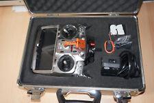 Futaba t14 MZ-P PPM/PCM, 35mhz, radio con ricevitore e valigetta.