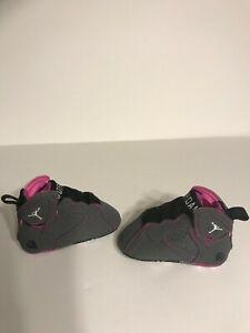 "2014' Nike Air Jordan VII Retro ""Fuchsia Flash"" Edition Infant Baby Crib No Box"