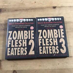 Zombie Flesh Eaters 2 & 3 DVD