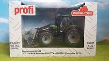 Weise-Toys Profi Sondermodell 2015 Deutz Fahr Agrotron Stoll Frontlader Ovp 1:32