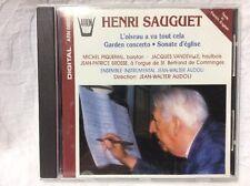 Henri Sauguet L'oiseau A Vu Tout Cell Garden Concerto Sonate D'eglise