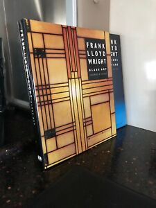 2 Frank Lloyd Wright Out Of Print Books. Heinz. Glass Art. Furniture & Interiors