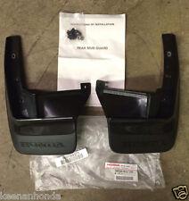 Genuine OEM Honda CRX Rear Splash Guard Set  1990 - 1991 SH2