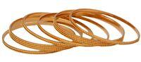 Indian Bangles Jewelry Bollywood Ethnic Gold Plated Fashion Bracelet Bangles Set