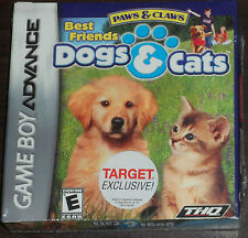 Nintendo Game Boy Advance GBA. Paws & Claws Best Friends Dogs & Cats (new)