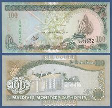 MALEDIVEN / MALDIVES 100 Rufiyaa  2000 UNC P.22 b
