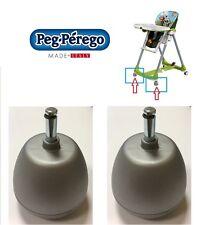 RUOTE RICAMBIO SEGGIOLONE PRIMA PAPPA 2 stabilizzatori  Peg Perego -nuovo-Italia
