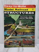 1960 Easy to Build Model Trains Railroad Structures Instructional Magazine