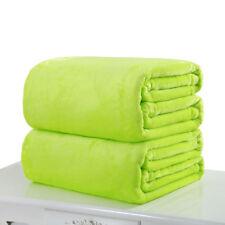 Weiche warme warme Mikro-Plüsch-Fleece-Decke Throw Rug Sofa Bettzeug