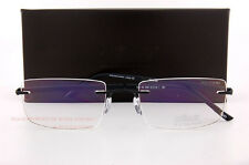 Silhouette Eyeglass Frames Hinge C-2 Collection 5422 6052 Black SZ 54