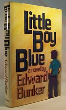 Edward Bunker LITTLE BOY BLUE First Edition 1981 Inscribed and SIGNED Copy!