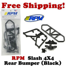 RPM 80122 Traxxas Slash 4x4 Rear Bumper (Black)