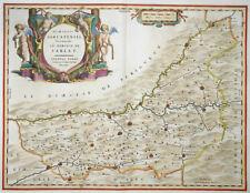 FRANKREICH DIOECESIS SARLATENSIS TARDO SARLET BERGERAC PERIGUEUX BLAEU 1642