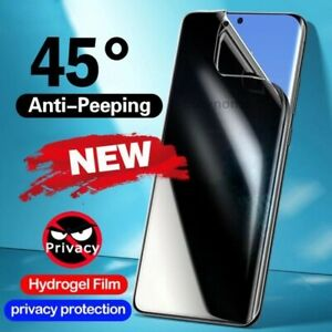 Privacy Soft Hydrogel Film Screen Protector For Samsung Galaxy Note20 S21 S20 S9