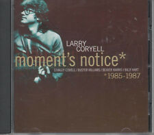 Larry Coryell Moments Notice CD NEU Stanley Cowell Buster Williams Beaver Harris