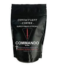 COMMANDO COFFEE BLEND Ground (Dark Roast Espresso) Contact Left Coffee Company
