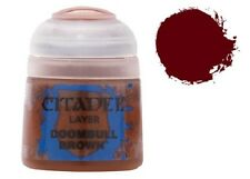 GAMES WORKSHOP CITADEL COLORE ACRILICO 12ml 22-45 LAYER DOOMBULL BROWN