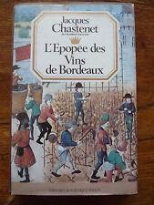 M*  L'Epopée des Vins de Bordeaux * Lib. Perrin