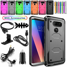 New listing For Lg V30 / V30S ThinQ Plus Phone Case Shockproof Hard Cover With Accessories