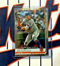 PETE ALONSO RC 2019 Topps Chrome Baseball ROOKIE DEBUT #52 New York Mets QTY