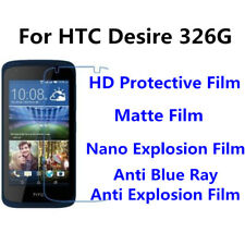 3pcs For HTC Desire 326G9+ High Clear/Matte/Anti Blue Ray Screen Protector