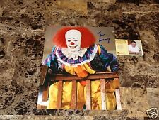 Tim Curry Rare Signed Pennywise It Horror Cult Classic Movie Movie Photo + COA