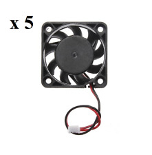 5 x 4cm 40mm PC Fan Silent Cooling Heat Sink Computer Case 5V 2 Pin Wire Mini Bl