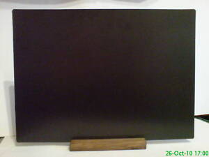 A3  TABLE TOP CHALKBOARD - PUB - CAFE - COUNTER FOR LIQUID CHALK PENS  SS