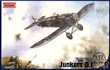 Junkers d.i - ww i all-metal fighter (kaiserliche luftwaffe MKGS) 1/72 roden