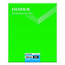 FUJIFILM CUT Velvia 100 NP 8X10 20 Reversal Film Fujichrome Velvia100 Sheets NEW