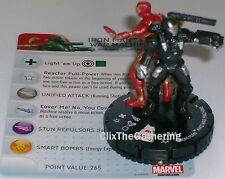 IRON MAN AND WAR MACHINE #043 The Invincible Iron Man Marvel Heroclix Super Rare